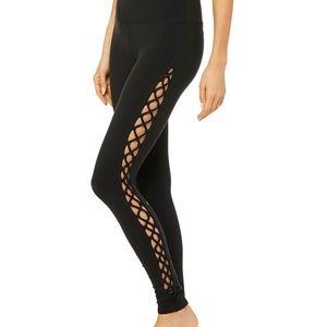 Alo Interlace Side Lace Full Length Leggings